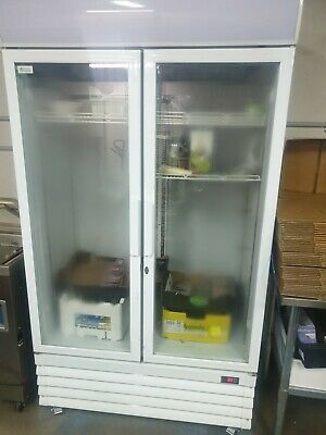 Comercial fridge Glass twin doors 1.5 years old with receipt taren point