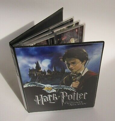 Harry Potter Prisoner of Azkaban - Full Card Set of 72 & 17 Foils in Binder