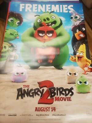 Angry Birds 2 - original DS movie poster  D/S 27x40 Advance B