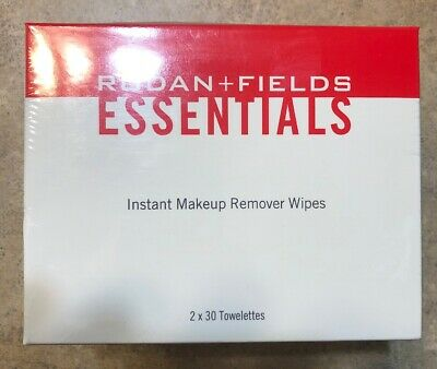 NEW Rodan + and Fields Essentials Instant Makeup Remover Wipes 2x30