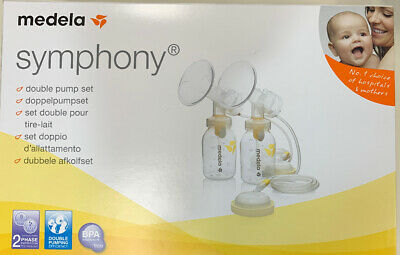 NEW Medela Symphony Double Pump Set- For Use With Symphony Electric Breast Pump.