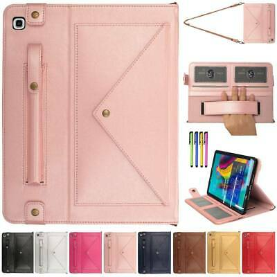 Folio Leather Smart Case Messenger Bag For Samsung Galaxy Tab S5e 10.5 T720/T725