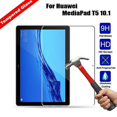 Real Tempered Glass Screen Protector Cover For Huawei MediaPad T5 10.1 Tablet