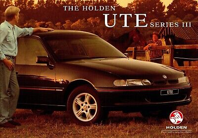Holden Commodore VS Series III ute sales Brochure