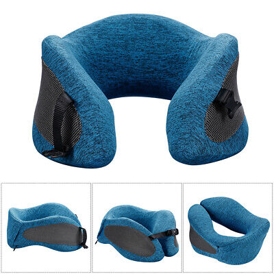 Travel Pillow Memory Foam U Shaped Neck Support Head Rest Bus Plane Soft Cushion
