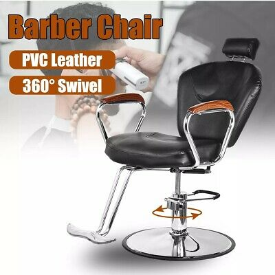 Barber Chair Shampoo Salon Furniture Beauty Chair with Wooden Armrest