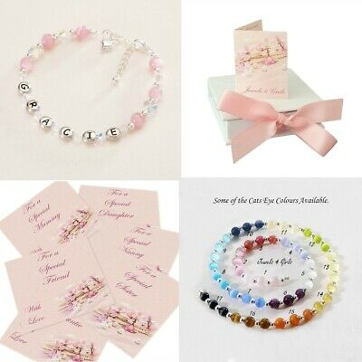 High Quality Name Bracelet for a Girl, Personalised Girls Jewellery, Any Colour!