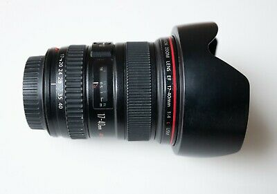 Canon EF 17-40 mm f/4 L USM Lens used