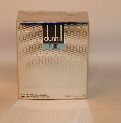Dunhill Pure 75 ml After Shave Lotion NEU/OVP