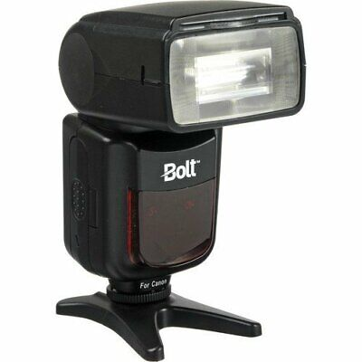 Bolt VX-710C TTL Flash for Canon Cameras Tilts -7 to 90° & Rotates 270° Free S/H