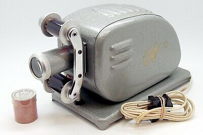 Vintage Cifo II Film Projector & Mini Cartoon Film #4905