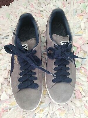 PUMA SUEDE CLASSIC Ice Mix Sneakers Blue Mens size 11