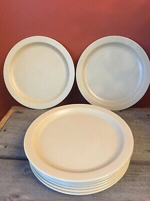 Cambro Dinner Plate Beige Huntington Beach, CA Set Of 11 9""