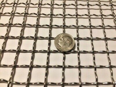 "Stainless Steel 304 Mesh #30 .012 Wire Cloth Screen 6/""x12/"""