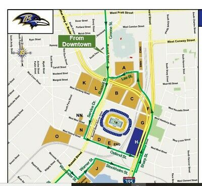 Pittsburgh Steelers vs Baltimore Ravens Parking Pass 12/29/19