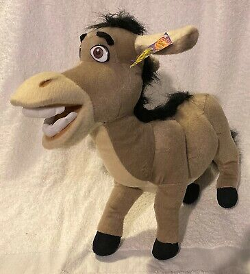 Donkey Shrek the Third Large Stuffed Plush Nanco 2004