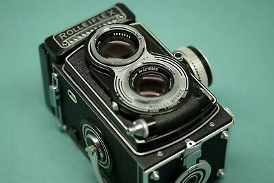 Rolleiflex 3.5 T Camera with Case