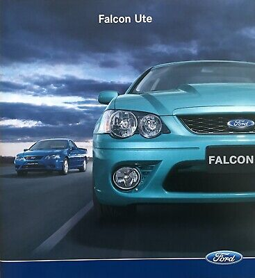 Ford Falcon Ute Sales Brochure BF RTV XR6 Turbo XR8 etc