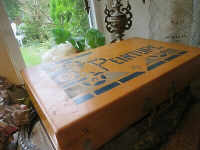 Splendid Antique French Art Deco Artists Travelling Compendium~ Display/ Prop