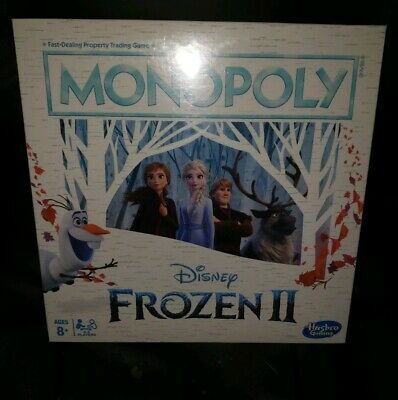 Monopoly Game Disney Frozen II Edition Journey through Arendelle and Beyond New