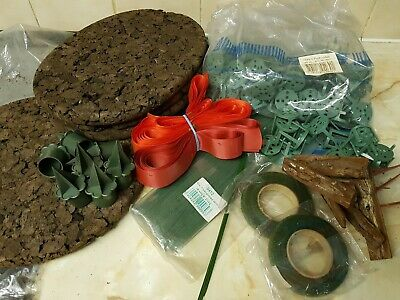 Floristry Tape, Wires, Candle holders,