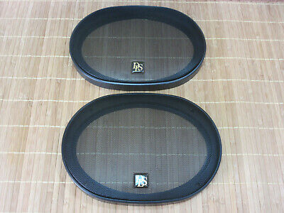 """HIGH END SPEAKERS DLS M3710 6 x 9"""" GRILLES. NEW! NEVER USED."""