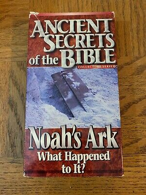 Ancient Secrets Of The Bible VHS