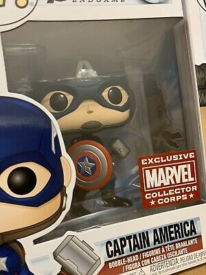 Captain America with Mjolnir Funko Pop! Avengers Endgame #481 - Limited Edition