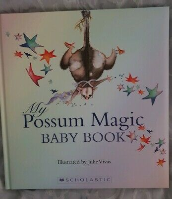 Possum Magic Baby Record Book