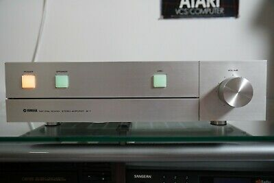 Yamaha A-1 Stereo Integrated Amplifier ~WORKS GREAT~ Silver Japan Import CA-2000