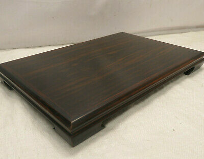 Vintage Ikebana Tray Bonsai Stand Wooden PERSIMMON Japanese Traditional #215