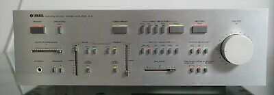 Yamaha A-9 Stereo Integrated Amplifier ~WORKS GREAT~Vintage Japan Import CA-2000