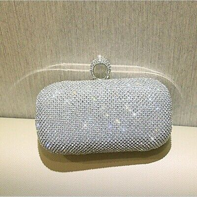 Women Evening Clutches Hand Ring Purse Bag Clutch Handbag Handbag Wrist