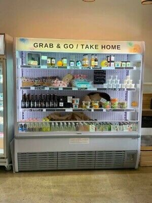 OPEN DISPLAY FRIDGE - 9 months old good condition