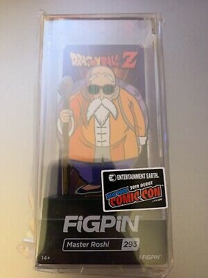 NYCC 2019 Figpin Master Roshi 293 In Hand Dragon Ball Z