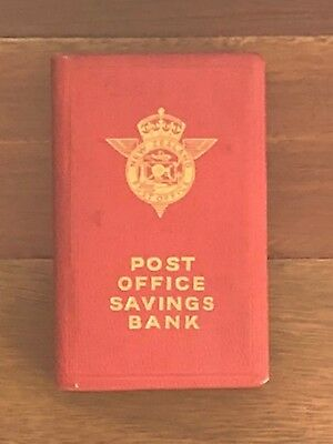 Retro New Zealand Post Office Savings Bank Money Box