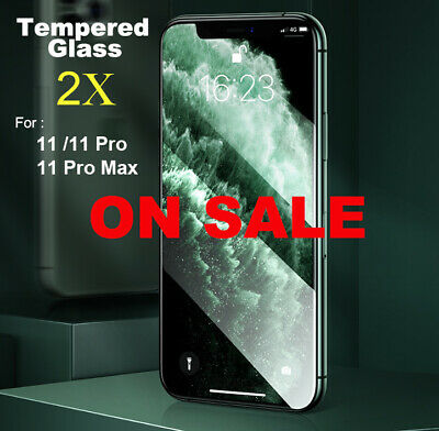 High quality Screen Protector Tempered Glass for iPhone 11 / 11Pro /11 Pro Max