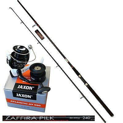 Rolle Schnur New 2017 Mitchell GT PRO BOAT 2,40m 100-300g Combo Pilkrute