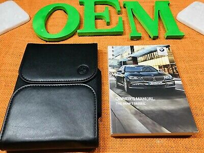 2019 BMW 7 SERIES 740i 740Li 750i 750Li 760LI M xDRIVE OWNERS MANUAL (OeM NEW)