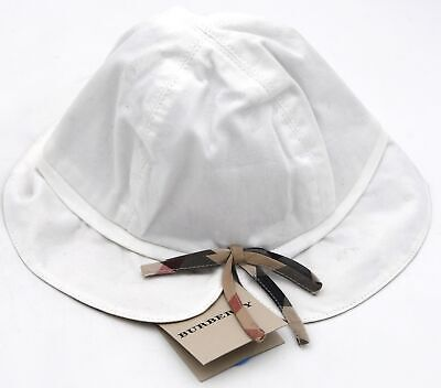 Burberry Junior Girl Fisherman's Hat Cap Cotton Casual Free Time Code B01324