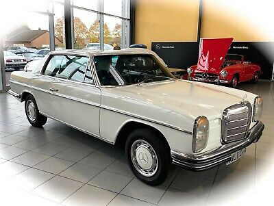 WOW! TRAUM Coupe Mercedes Benz 280 C W114 Strich 8 ein Oldtimer Heritage Motors