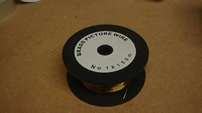 Brass Picture Wire No 1 x 150m