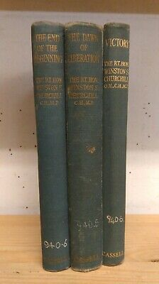 War Speeches by Winston Churchill: Collection of 3 Non-Fiction books 1942-45