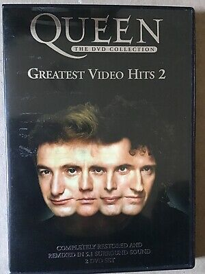 Queen The Dvd Collection,Greatest Video Hits 2,Free P&P)
