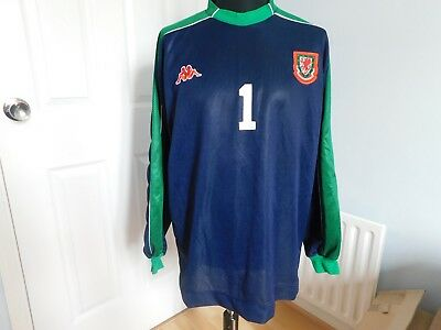 Wales, Goalkeepers Shirt, Player Issued, Training, Heavy Padding, 1. Xxl,3G / 4G