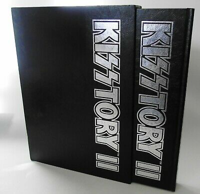 KISSTORY II Book KISS Collectors Bible With Poster Paul Stanley Gene Simmons