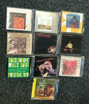 Lot of x10 Jazz CDs - Cannonball Adderley, Art Blakey, Clifford Brown & More!