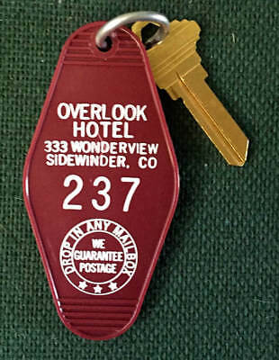 SALE!!! The Shining Room Key/Overlook Hotel Room Key/ Keyring/Keychain #237