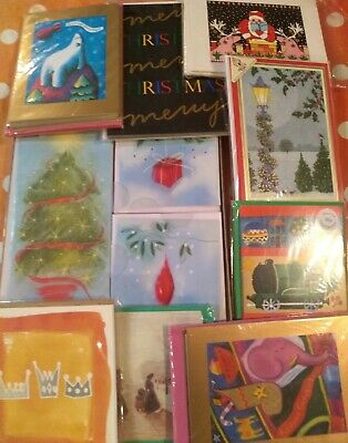 Christmas Cards x60 Bulk job lot shop closing down selection eleven