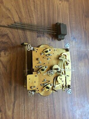 Old Clock Movement For Spares Or Repairs